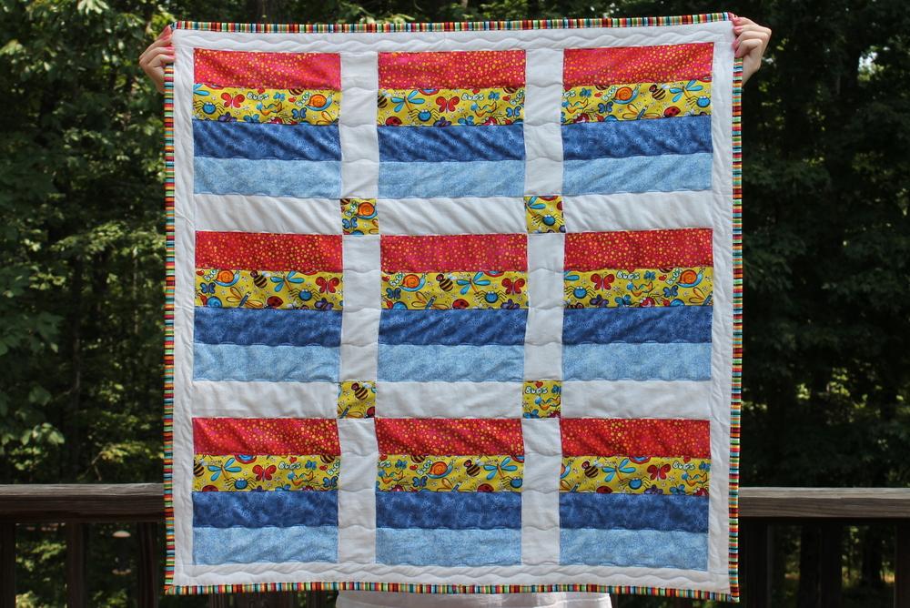 Lisa's Carolina | Handmade: Bugs! for a baby boy's quilt : bug quilt - Adamdwight.com