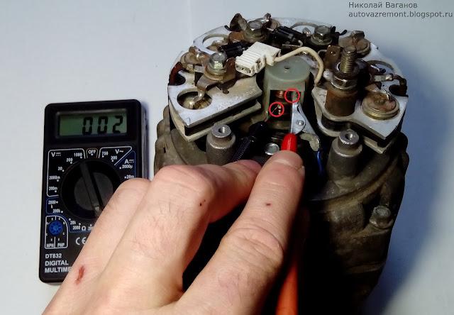 Ремонт автомобильного генератора проверка диодного моста своими руками 18