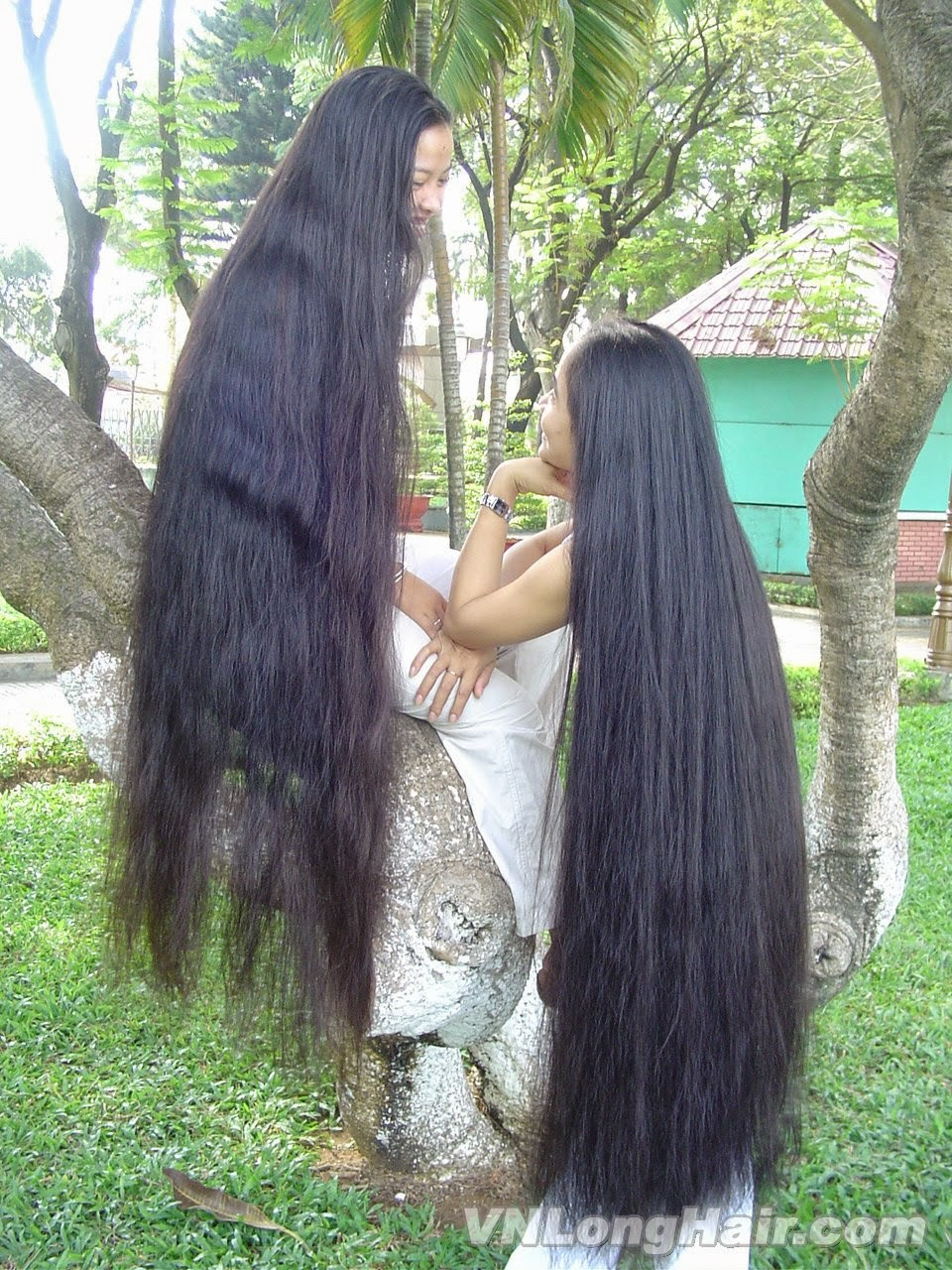 Long Haired Women Hall of Fame: Lam & Hoai