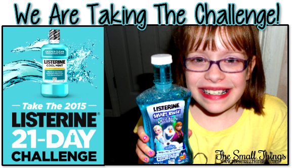 Listerine 21 day challenge sweepstakes today
