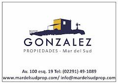 GONZALEZ PROPIEDAS-MAR DEL SUD