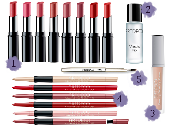 Preview Artdeco Long-Wear Lips - Limited Edition (LE) - Februar 2015