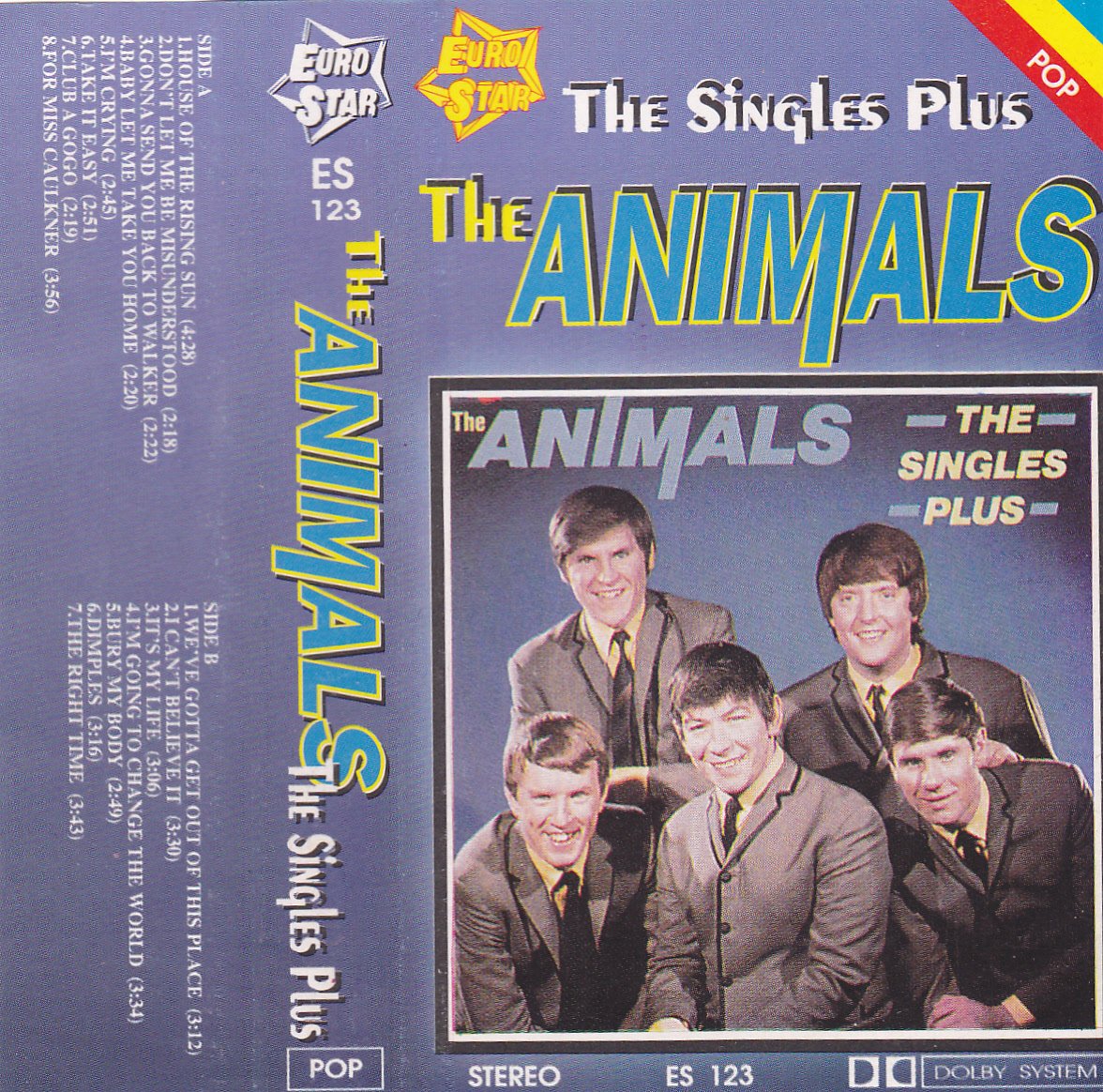 ok adki cd kaset i winyli the animals the singles plus