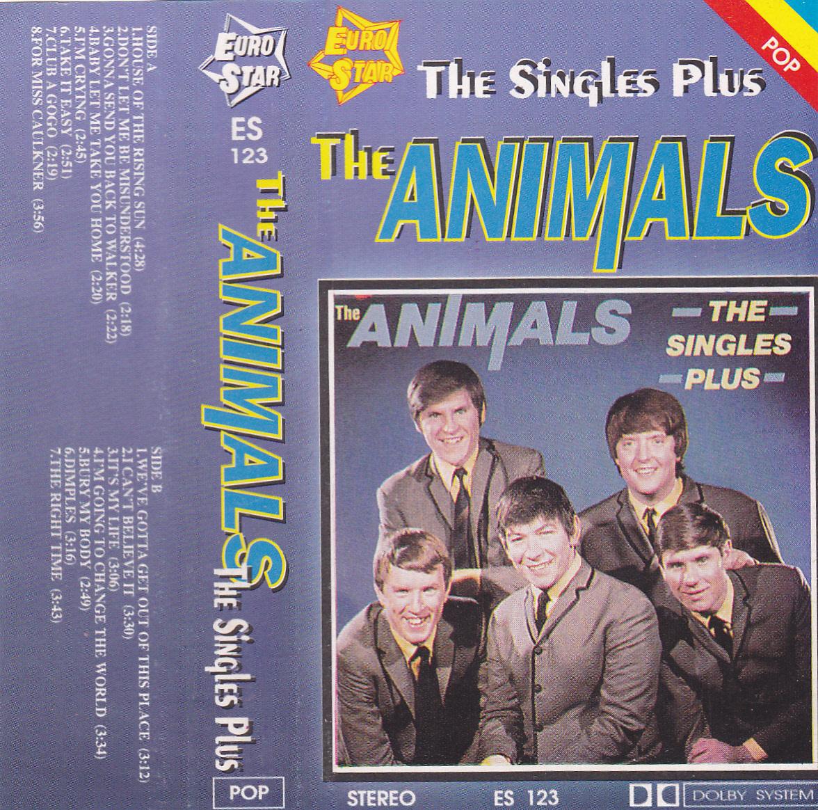 ok adki cd kaset i winyli the animals the singles plus