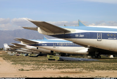 aeronaves - Davis-Monthan AFB - o maior cemitério de aeronaves do mundo  Amarc+707