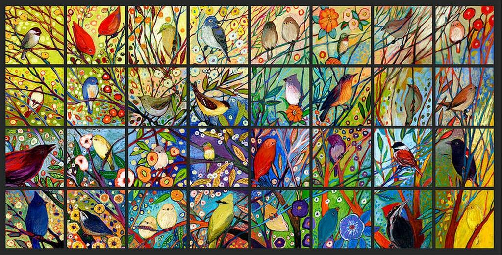Im genes arte pinturas pinturas de pajaros al oleo en for Cuadros coloridos modernos