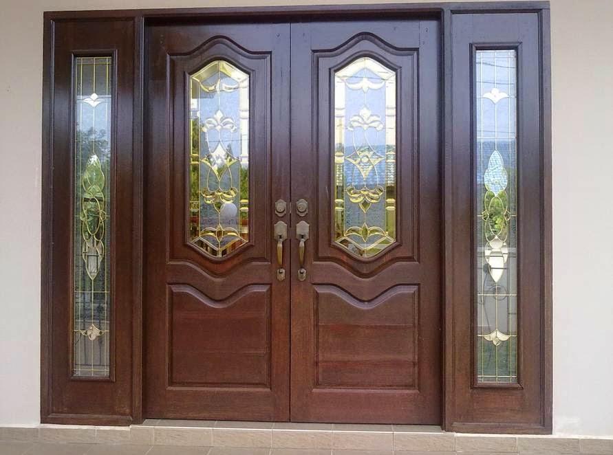 Desain pintu utama depan rumah minimalis