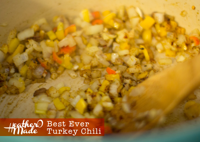 Best Ever Turkey Chili recipe