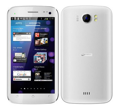 Micromax A110Q Canvas 2 Plus 3G Phablet White Images & Photos Review