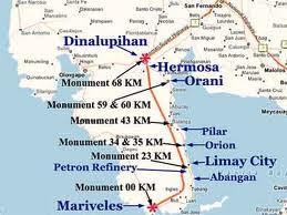 Bataan Philippines Map Of Bataan Philippines