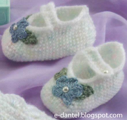 Beyaz Bebek Patiği Modelleri