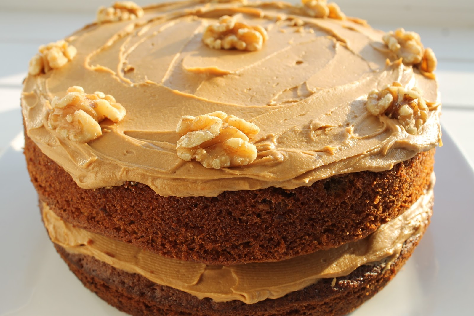 Coffee and walnut cake Mary Berry Great British Bake Off GBBO