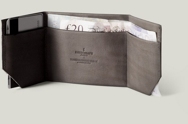 Premium Leather Wallet by Hard Graft