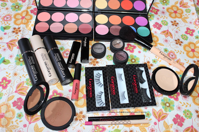 Gorgeous Cosmetics, Gorgeous Cosmetics India