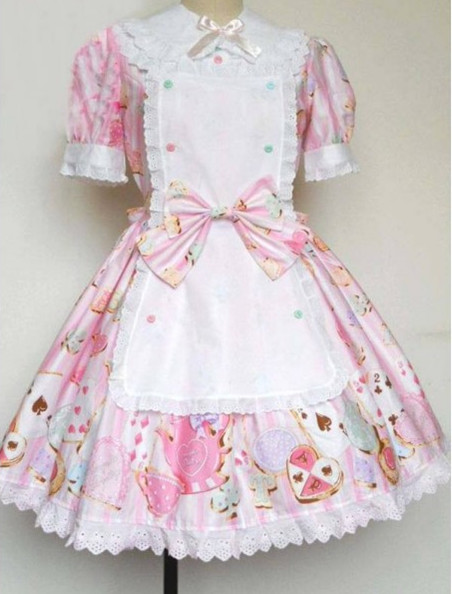 gorgeous rococo dress style