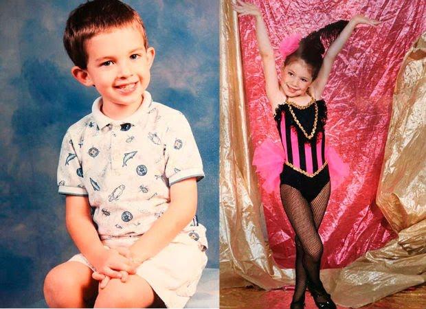 Filha de militar, Katie Hill era Lucas. Na infância, Arin Andrews era Esmeralda (Foto: Reprodução Internet)