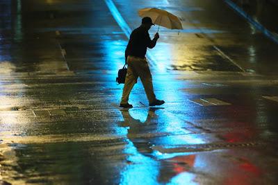 Rain in Atlanta