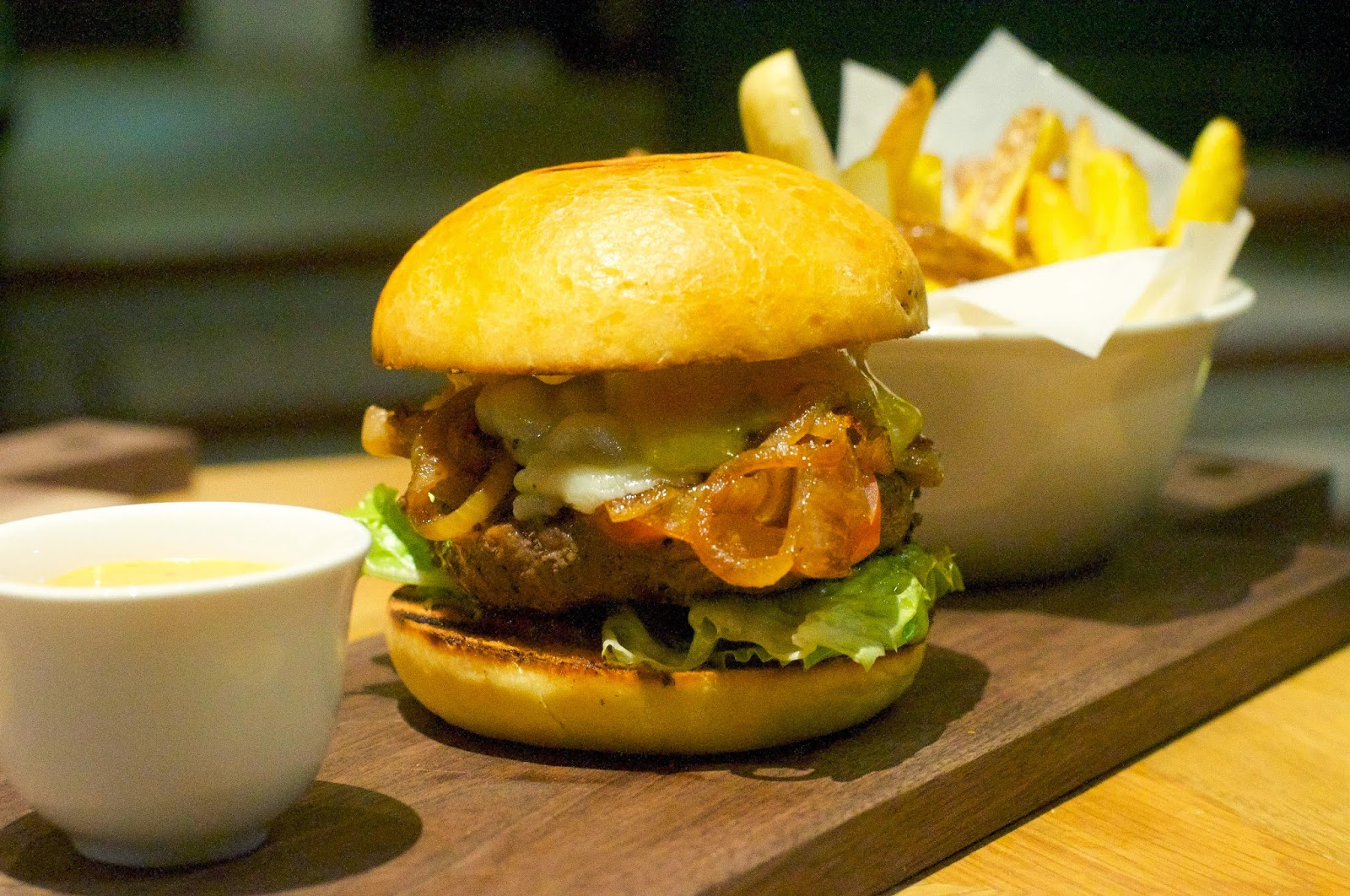 Providore: Grass-fed beef burger