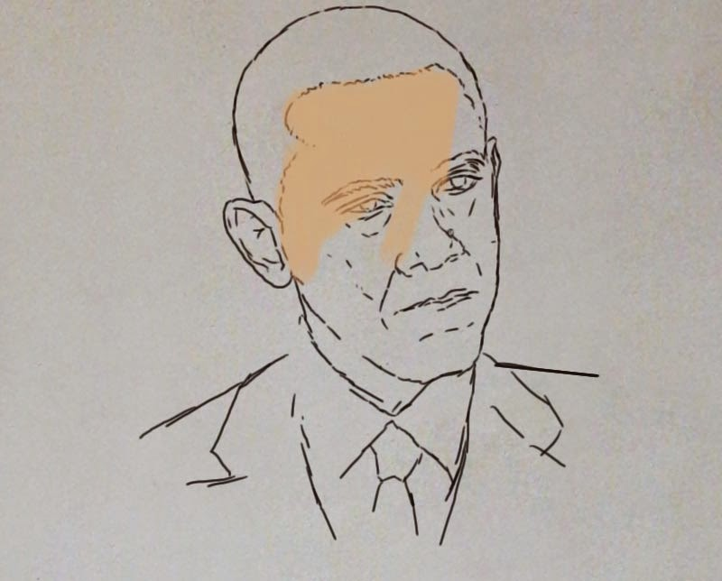 Line Drawing Portrait Artists : Scribbled line portrait ayaka ito