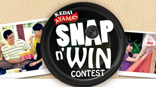 Kedai Ayamas 'Snap & Win' Contest