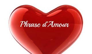 Phrases romantique