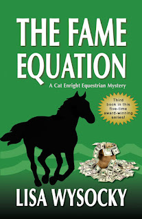 http://www.amazon.com/Fame-Equation-Enright-Equestrian-Mystery/dp/1935270370/ref=sr_1_1?ie=UTF8&qid=1440604876&sr=8-1&keywords=the+fame+equation