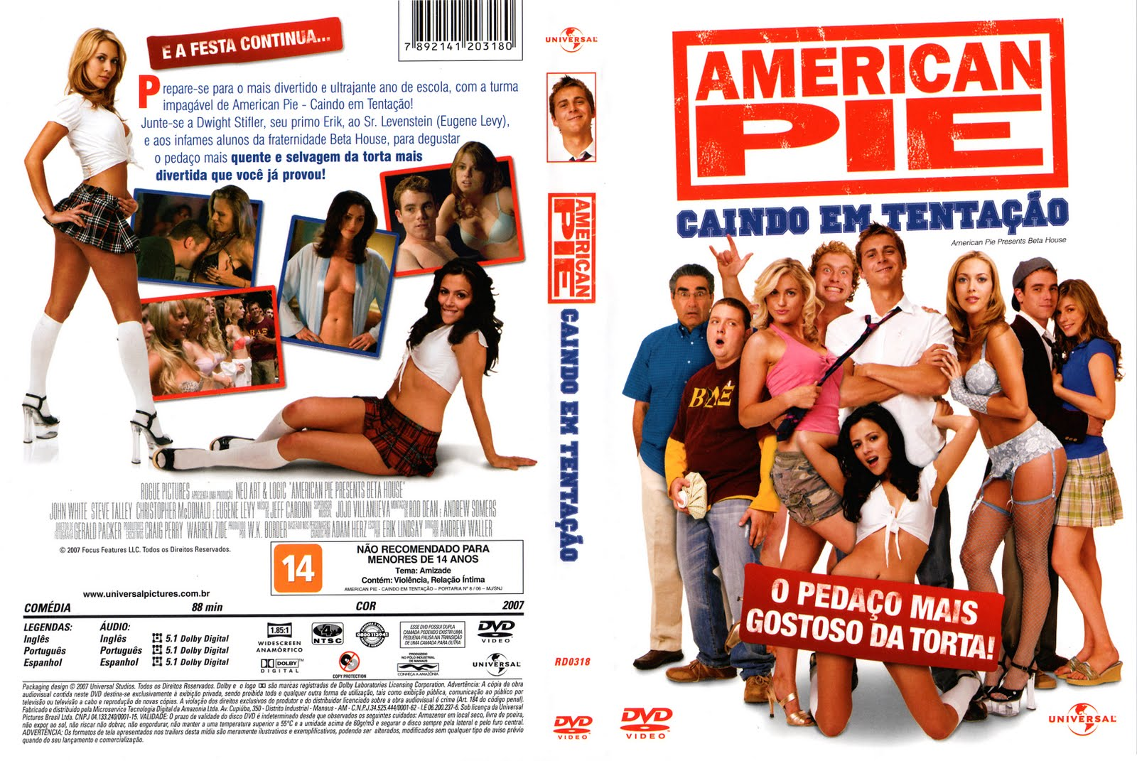 Amazoncom American Pie Unrated Widescreen Collectors