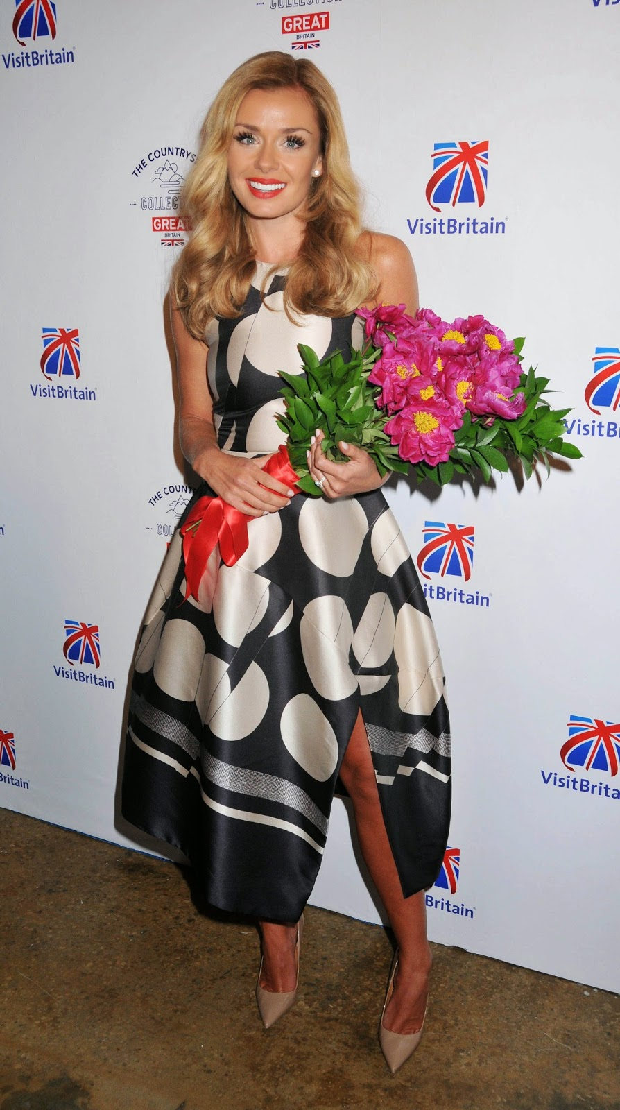Classical-Crossover, Classical, Operatic Pop: Katherine Jenkins At Visitbritain Celebrates The Countryside Collection Launch In New York