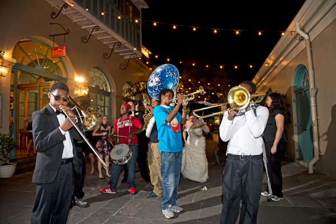 New Orleans Destination Real Wedding