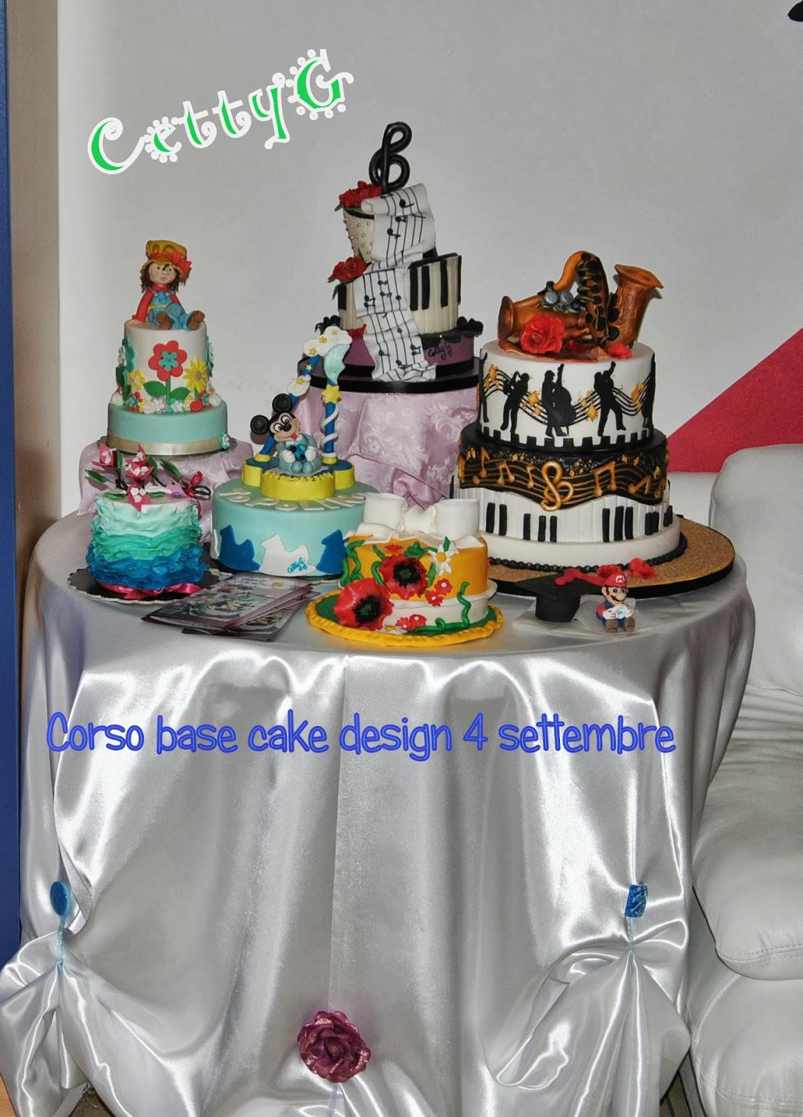 Le torte decorate di cetty g corso base di cake design for Design personalizzato