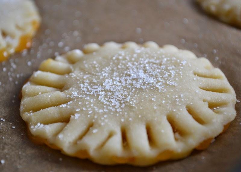 Pie-Cookies mit Marmelade