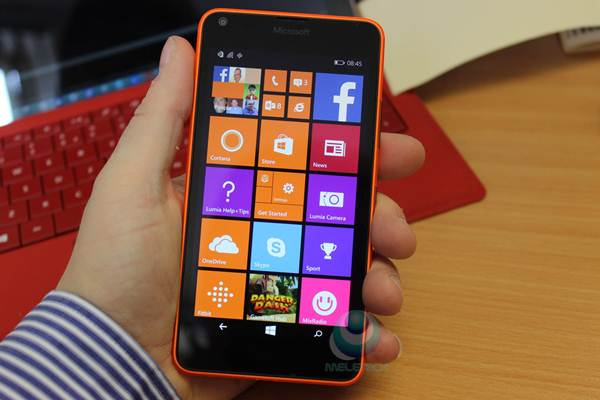 kamera microsoft Lumia 640 LTE