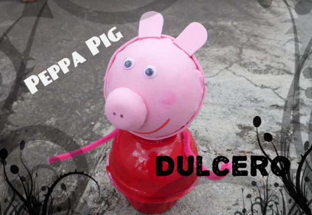 Dulcero de Peppa Pig para una Fiesta Infantil
