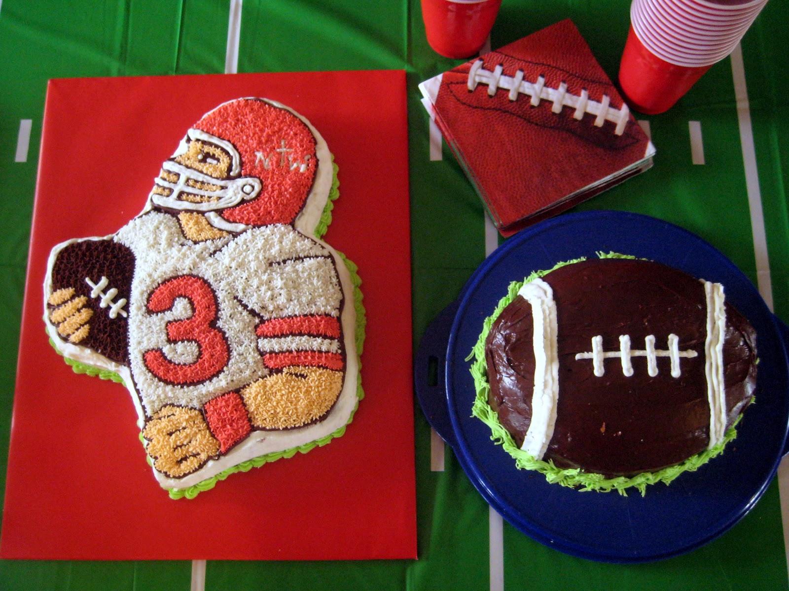 COBO Football Cakes
