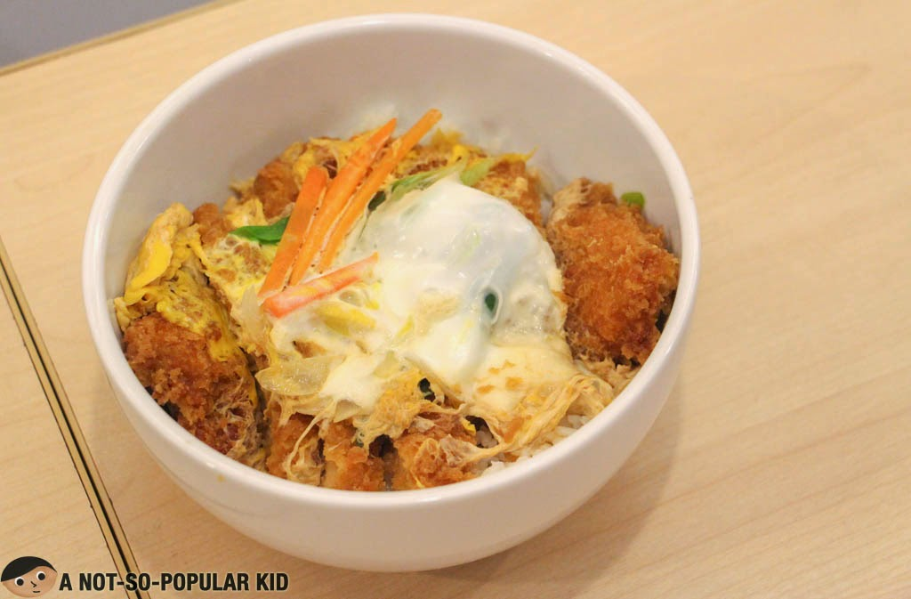 The big bowl of Katsudon by Ramen Cool!