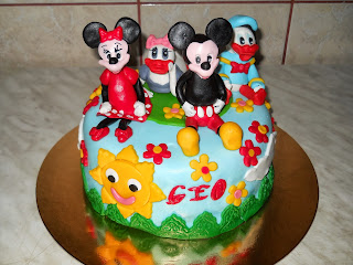 Tort Mickey Mouse &Co.
