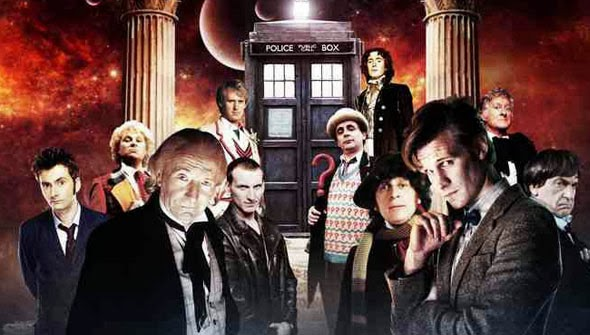 11 doctores Doctor Who