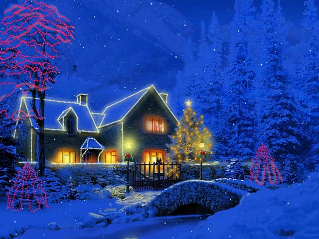free animated christmas wallpapers
