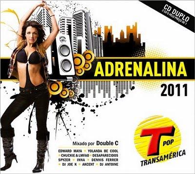 Rádio Transamérica:    Adrenalina 2 CD 2011