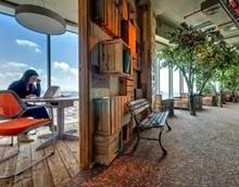 desain ruang kantor keren