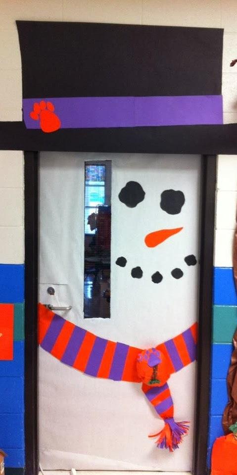 Ideas para el maestro decoraci n de puertas navide as for Decoracion de puertas de colegio