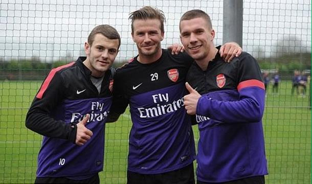 David Beckham, nuevo jugador del Arsenal