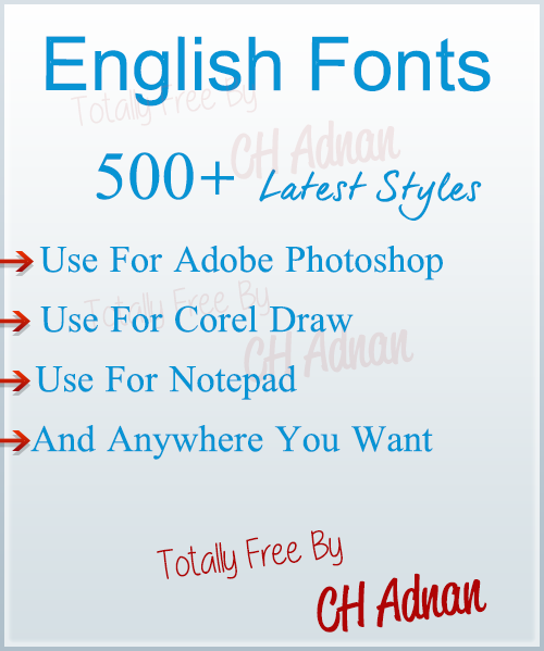 Latest Stylish Fonts Urdu Stylish Fonts English