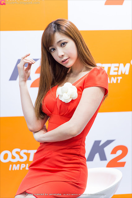 6 Jo Se Hee at SIDEX 2012-very cute asian girl-girlcute4u.blogspot.com