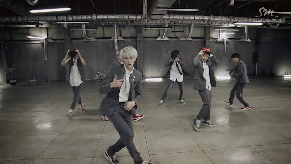 EXO Sehun Growl