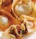 cara resep membuat pangsit goreng isi daging