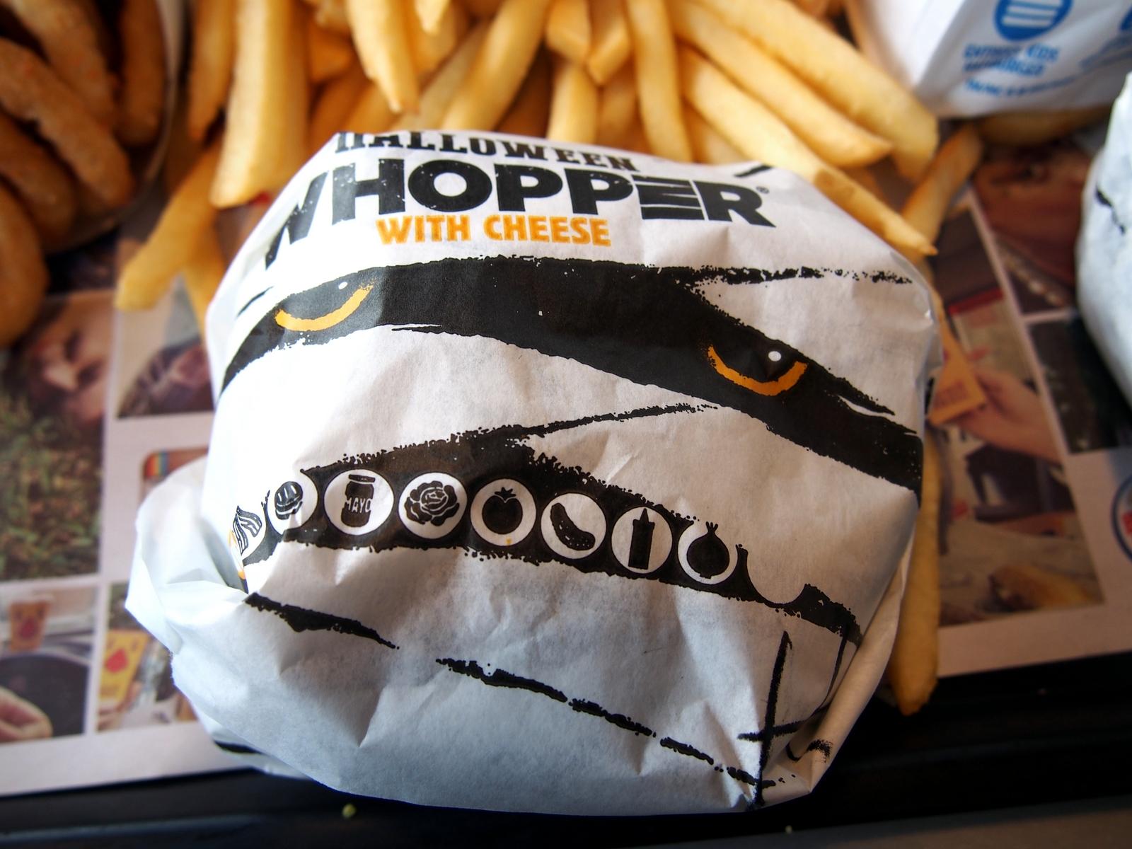 OTIS (Odd Things I've Seen): Buns of Sable: The Burger King ...