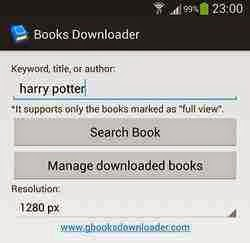 Free Download Google Books Downloader for Android Terbaru