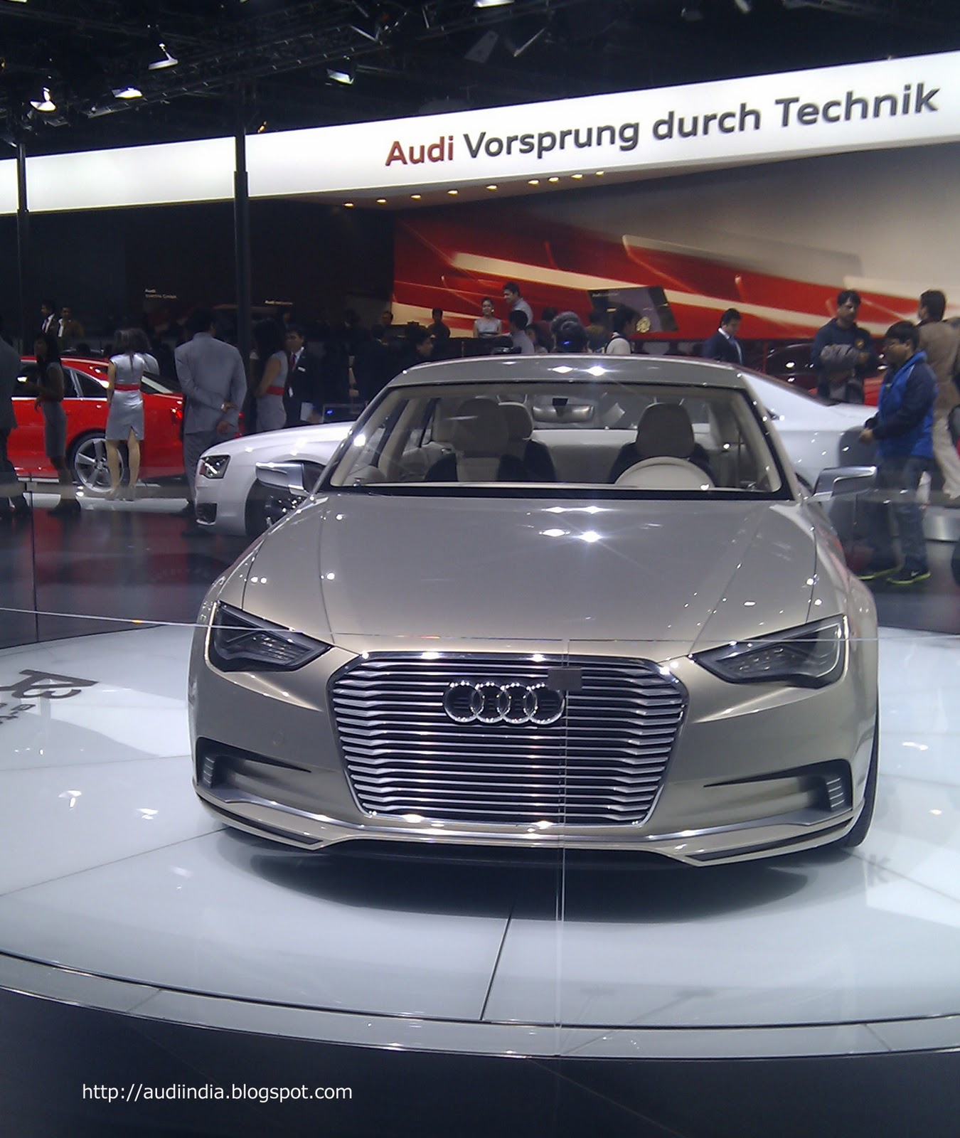 Audi At 11th Auto Expo (Pragati Maidan, New Delhi)