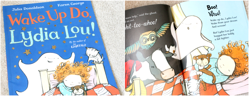 wake up do lydia lou, Kids Halloween Books,